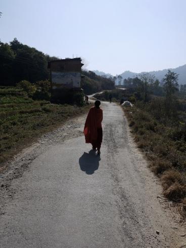 Road to Nagarkot