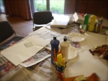 ARTS WEEK 2013 - painting workshop