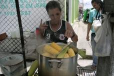 Maria, cria do milho