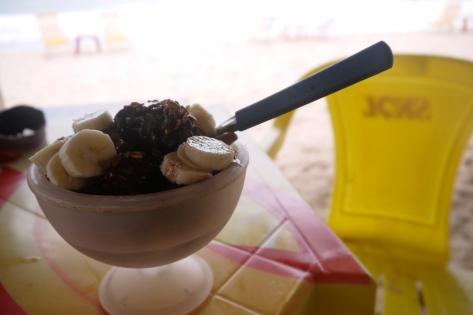 Acai and banana